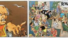Cases mémorables - Les Passagers du Vent et Tintin au Tibet