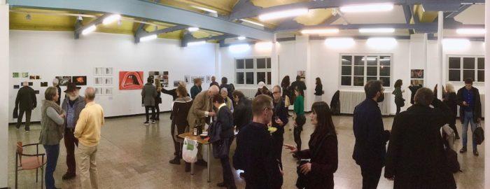 Vernissage du 24 novembre, Marcol, 2018, Focale, Coulisse(s)